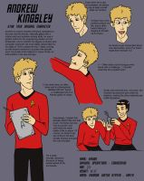 Star Trek OC - Andrew Kingsley by Pavender