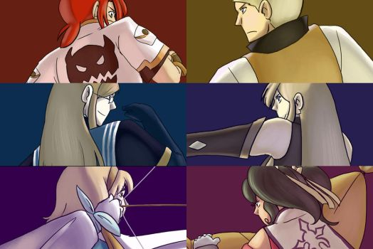 Tales of the Abyss gang by whoatheresara