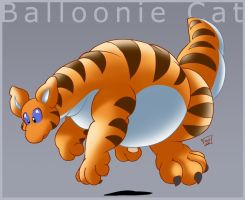Balloonie Cat by ChaloDillo