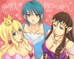 Princesses' Valentine's by Mimoly