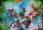 Flowers (oil painting) by AlexandraDart
