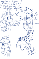 Sonic's Water Bottle by Weevmo
