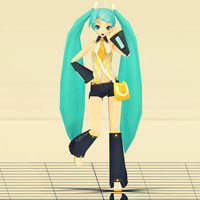 PD Rin Chan Now Squad 1 Miku DL by UtatanexKagamine