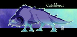 Catoblepas by Mythka