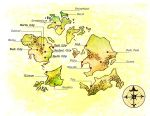 Golden Oceans Map by Papposilenos