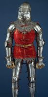 A knight in armour by SolStock