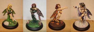 Seasons Fairies by Siobhan68