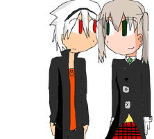 Maka and Soul by EDemonswordsmanCrona