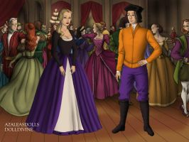 Double D and Nazz In Tudor Time by bre1