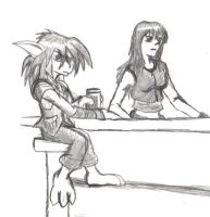 Squall at the Bar by Squall179