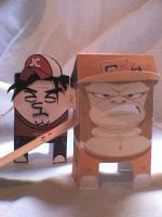 Packaging Toysl Jhon and Kombo by Cheba-Chan