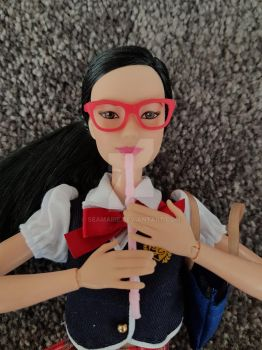 1:6 Descant recorder for Barbie and other dolls/fi by Seamarie