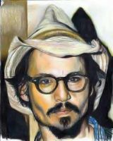 johnny depp by angelazilla