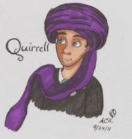 Quirrell by TheBlueFairy1940