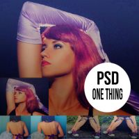 PSD's One Thing by DreamersLoveLol
