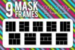 9 Mask Frames (Pack 2) by FaroneStorm