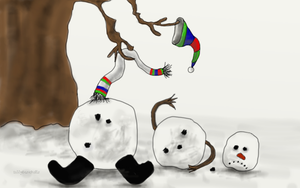 The Snowman by teddybearcholla