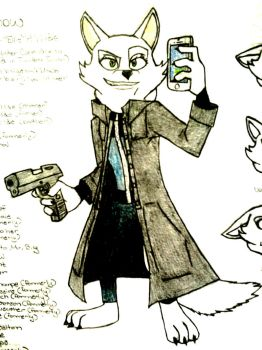 Zootopia OC: Agent Snow [Colored Version] by 2gredvisions