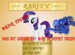 Rarity V3 Puppet Rig By Kcizsckiee (RE-UPLOAD) by JonnySel007