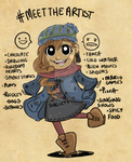 Meet the artist by Cup-of-VictoryTea