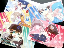 Free!-Eternal Summer- Card Sticker Set by yulit