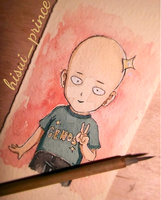 Chibi Saitama from ONE PUNCH MAN by deicus4ever