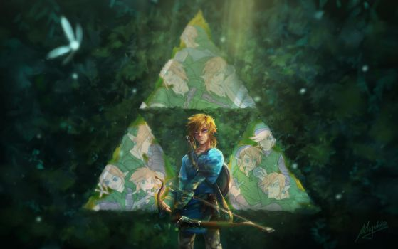 Legend of Zelda by Miyukiko