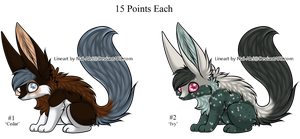 Fluffy Fox Adopts - Adopted by Feralx1
