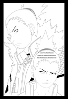 Naruto Chapter 194 Lineart by Hand-Banana