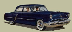 age of chrome and fins : 1952 Lincoln by Peterhoff3