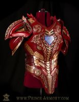 Asgardian Iron Man Cuirass by Azmal