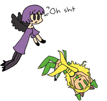 and then Lynne droped tanya by TheFuschiaSide