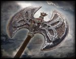 Axe of Scorn by JaredTheDragon