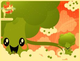 Cannibal Broccoli by audy