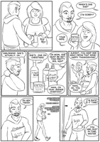 Thanksgiving Vignette, Page 1 by kastemel