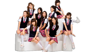 SNSD PNG by amirasone1432