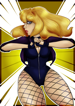 Black Canary by Zombie-Octopus