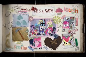Minkie Pie's Scrapbook by Reitanna-Seishin
