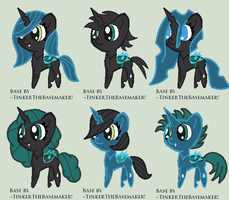 Changeling Adopts! (Closed) by nomenclaturewaggle