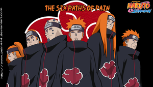 The Six Paths Of Pain by pein444