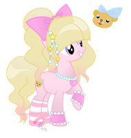 Lolita pony by SugarMoonPonyArtist