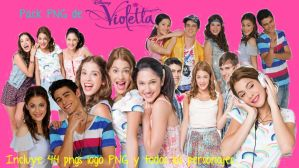 Pack PNG De Violetta by Viicky-Editions