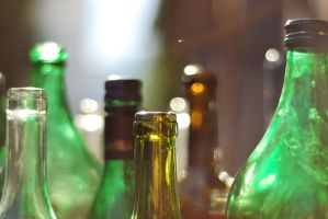 Bottle Bokeh 3 by D-Drafter