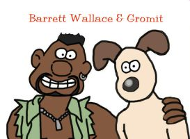 Barrett Wallace and Gromit by greenfairy87