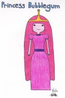 Princess Bubblegum by dancefever92