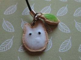 Little Totoro Cookie Charm by SneakyCinnamon
