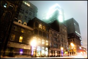University Lights - Foggy Ver by particle-fountain