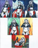 Lady Death 2 Sketch Cards 04 by Celestial4ever