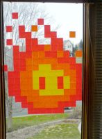 8-Bit Fireball by Bolarg