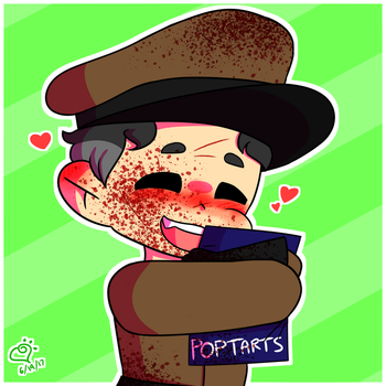 Ze Doctor Loves His Poptarts! by keepplayinghackysack